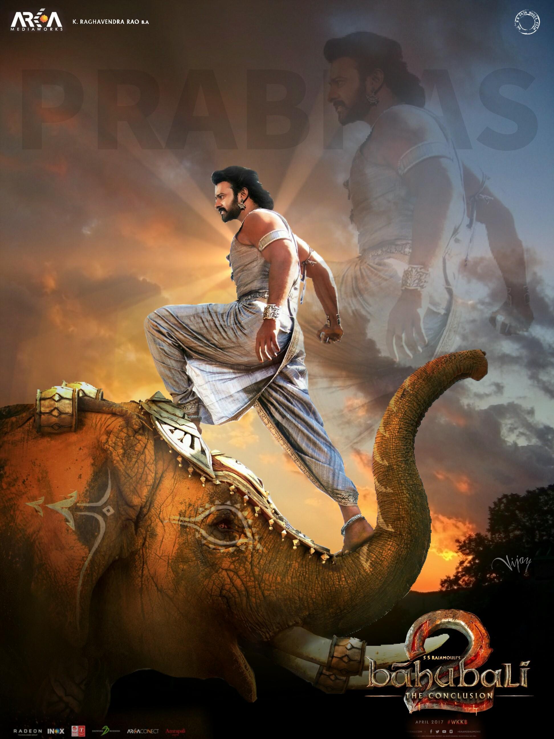 edit poster fan prabhas actor picsart latest