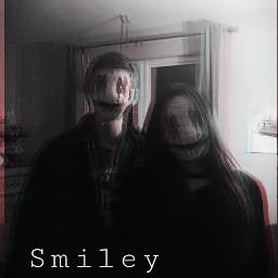 smiley draw scary crepy horror