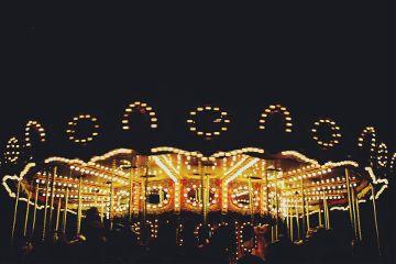 night madrid lights