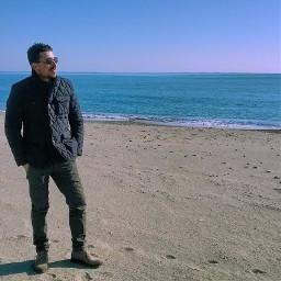 sea beach orizont calabria italy