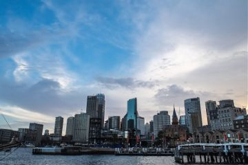sydney sydneyaustralia sydneyharbour skyline cityscape