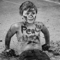 peace portrait children boy childmodel freetoedit