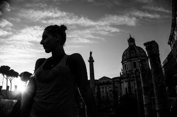 blackandwhite rome monochrome cityscape portrait