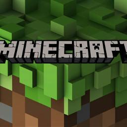 freetoedit grass minecraft logo follow