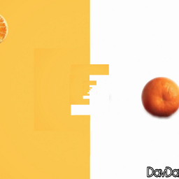 freetoedit orangeandwhite