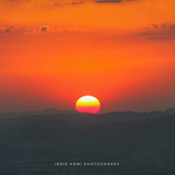 nature sunset sun