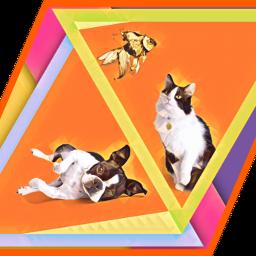 freetoedit doggy catandfish