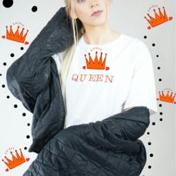 freetoedit crowns dottedoutline fashionreadyremix