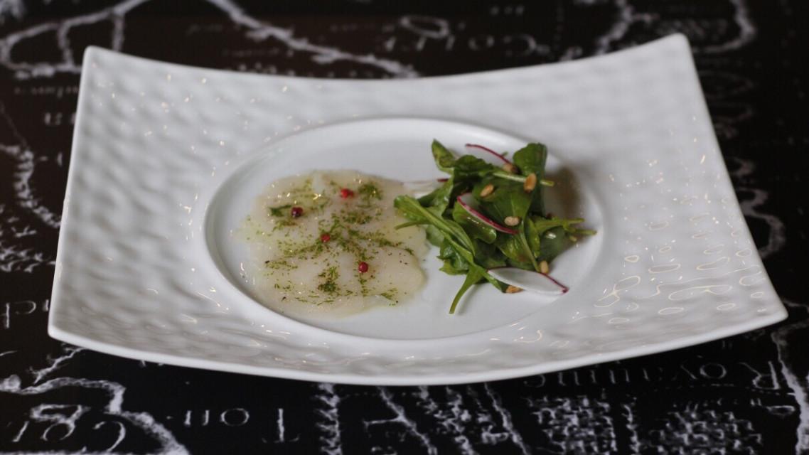 #Scallop #Carpaccio #rocketsalad #Chef #ChefNung