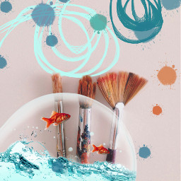 freetoedit remixed fishtank magicbrush hue