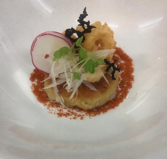 #SquidCake #Amusebouche #Chef #ChefNung
