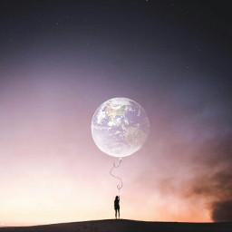 freetoedit freetoeditsticker earth