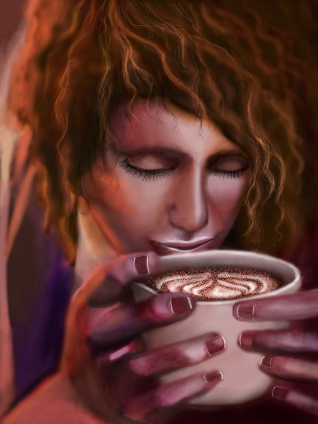 #wdpcoffee #mydrawing #madewithpicsartdrawingtools #noreference #latte #coffee